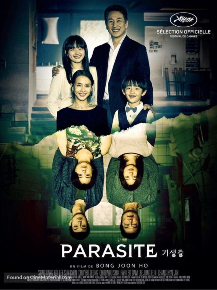 Resultado de imagen de parasite creative poster